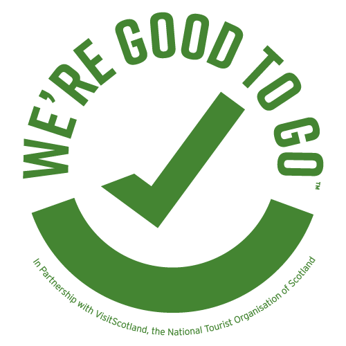 good to go logo green